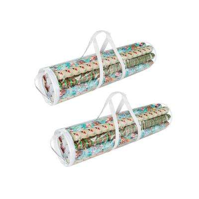 Wrapping Paper Gift Wrap Storage Bag for 31 in. Rolls (2-Pack)