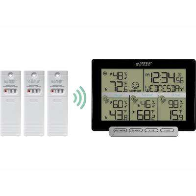 Wireless Digital Weather Station with 3 included transmitting sensors