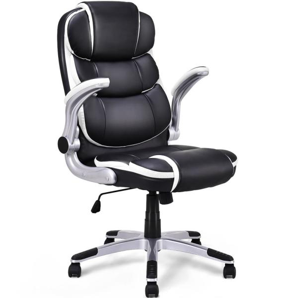 High Back Ergonomic Mesh Office Chair Swivel Computer Seat PC Desk Chair Black