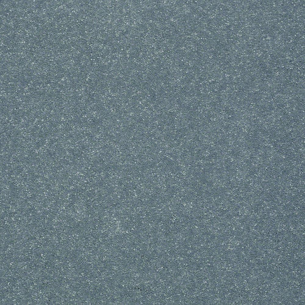 Full Bloom I - Color Seascape Texture 15 ft. Carpet