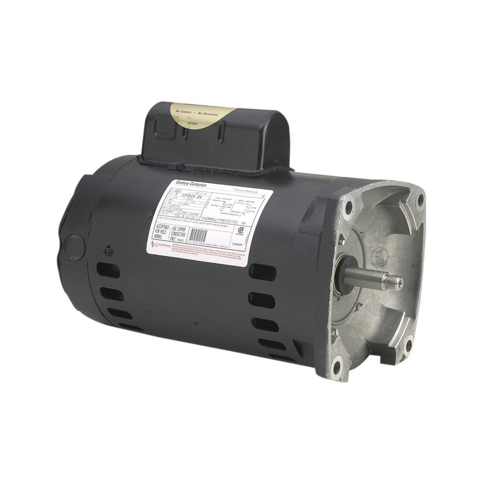 2 HP Single Speed Up Rate Replacement Motor