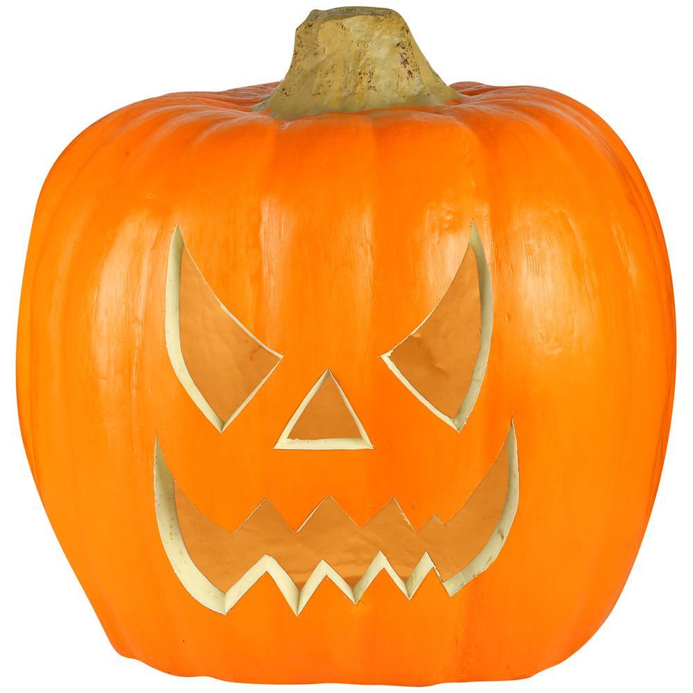 20 in. Blow Mold Jack-O-Lantern -Spooky Face