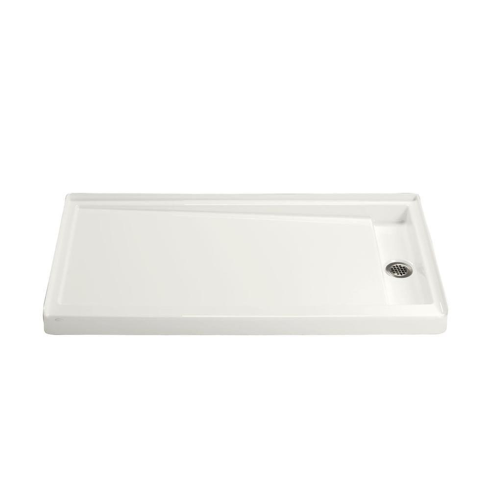 Kohler Groove 60 In X 32 In Single Threshold Shower Base