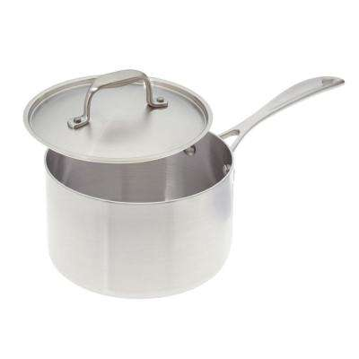 3 Qt. Premium Stainless Steel Sauce Pan with Cover