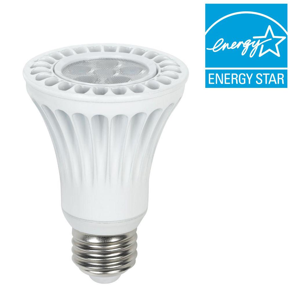 Led Spotlight Daylight: Maximus 50W Equivalent Daylight White PAR20 Dimmable LED