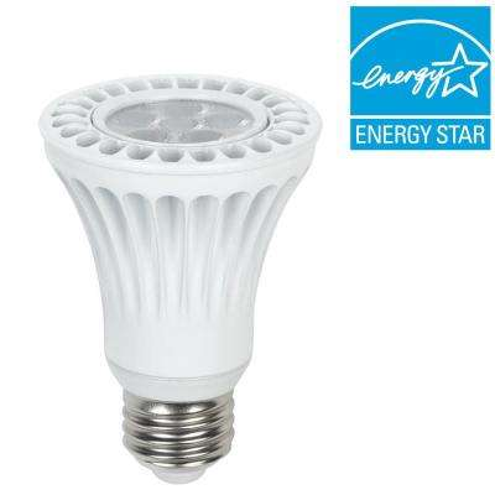 50W Equivalent Daylight White PAR20 Dimmable LED Spot Light Bulb