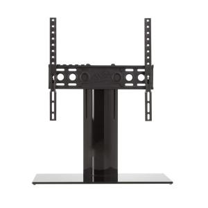AVF Universal Table Top TV Stand/Base Fixed Position for Most TVs 37 inch to 55 in., Black/Black by AVF