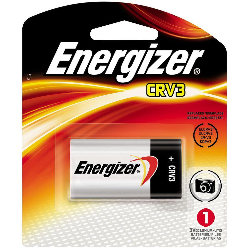 Energizer 3-Volt CRV3 Lithium Photo Battery