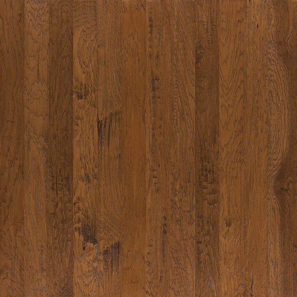 Take Home Sample - Western Hickory Weathered Engineered Hardwood Flooring - 3-1/4 in. x 10 in.