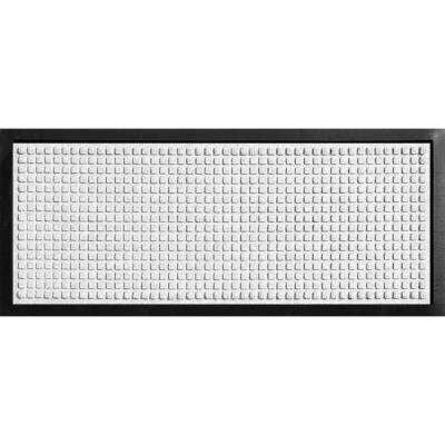 Aqua Shield Boot Tray Squares White 15 in. x 36 in. Door Mat