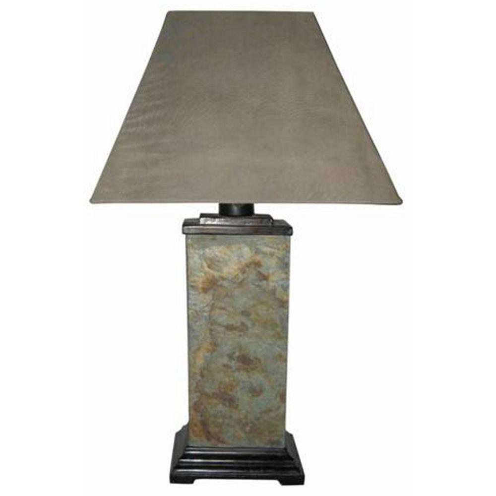 Fangio Lighting 29.5 in. Stone Table Lamp-DISCONTINUED