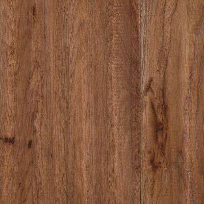 Take Home Sample - Yorkville Tanned Hickory Solid Hardwood Flooring - 5 in. x 7 in.