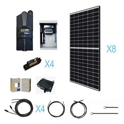 2560-Watt 48-Volt Off Grid Monocrystalline Solar Kit