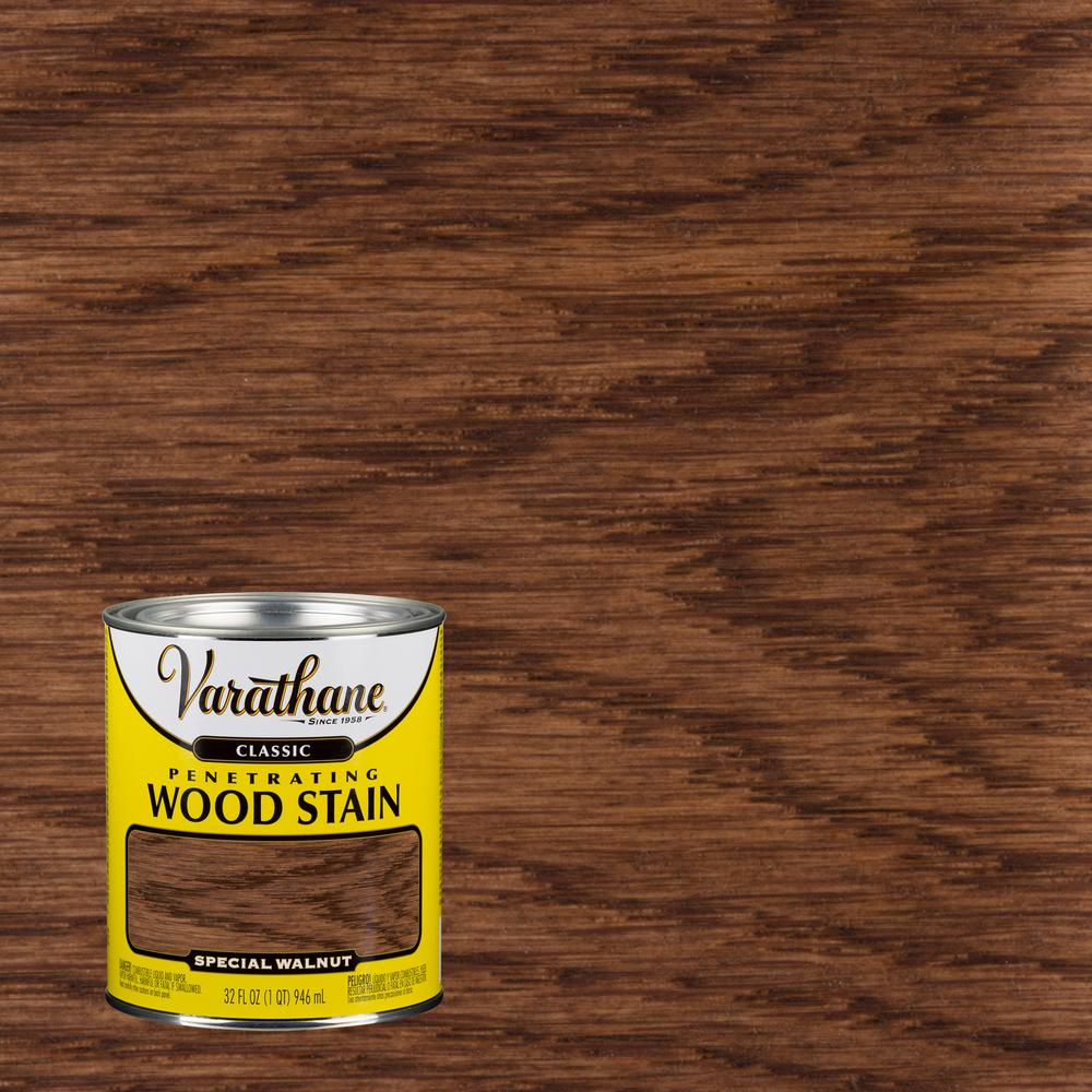 Varathane 1 qt. Special Walnut Classic Wood Interior Stain
