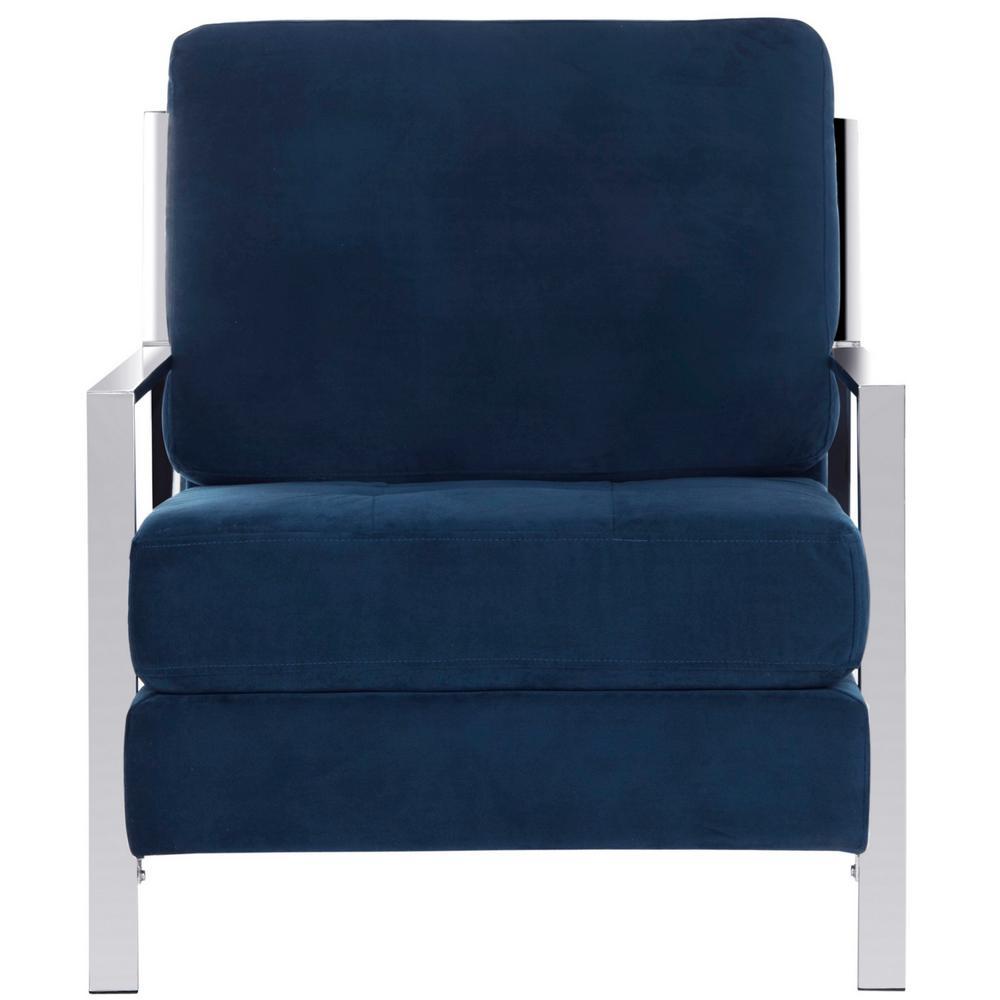 Walden Navy Accent Chair