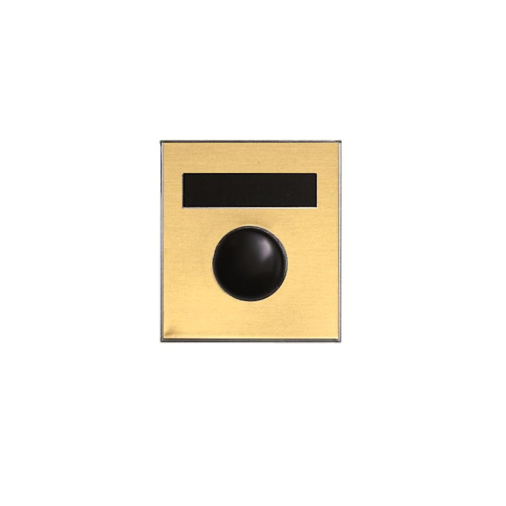 Auth-Chimes Anodized Gold Mechanical Door Chime