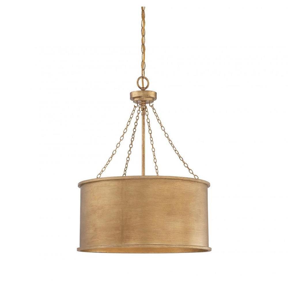 Meko 4-Light Gold Pendant