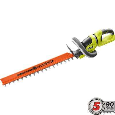 24 in. 40-Volt Lithium-Ion Cordless Hedge Trimmer-Battery and Charger Not Included