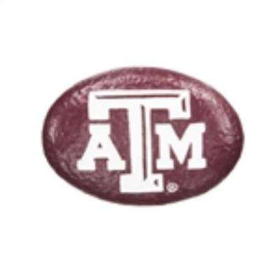 Texas A&M 3 in. x 2 in. Decorative Garden Rock