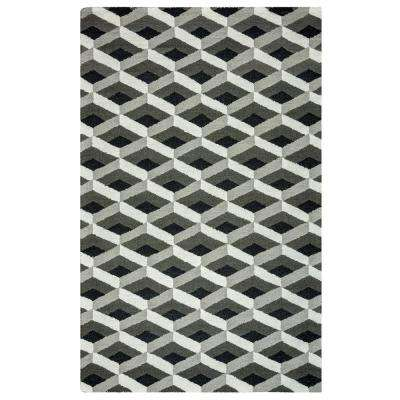 Country Gray 8 ft. x 10 ft. Area Rug