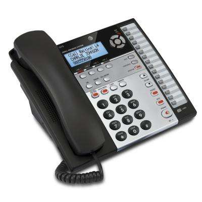 4-Line Expandable Corded Telephone with Caller ID