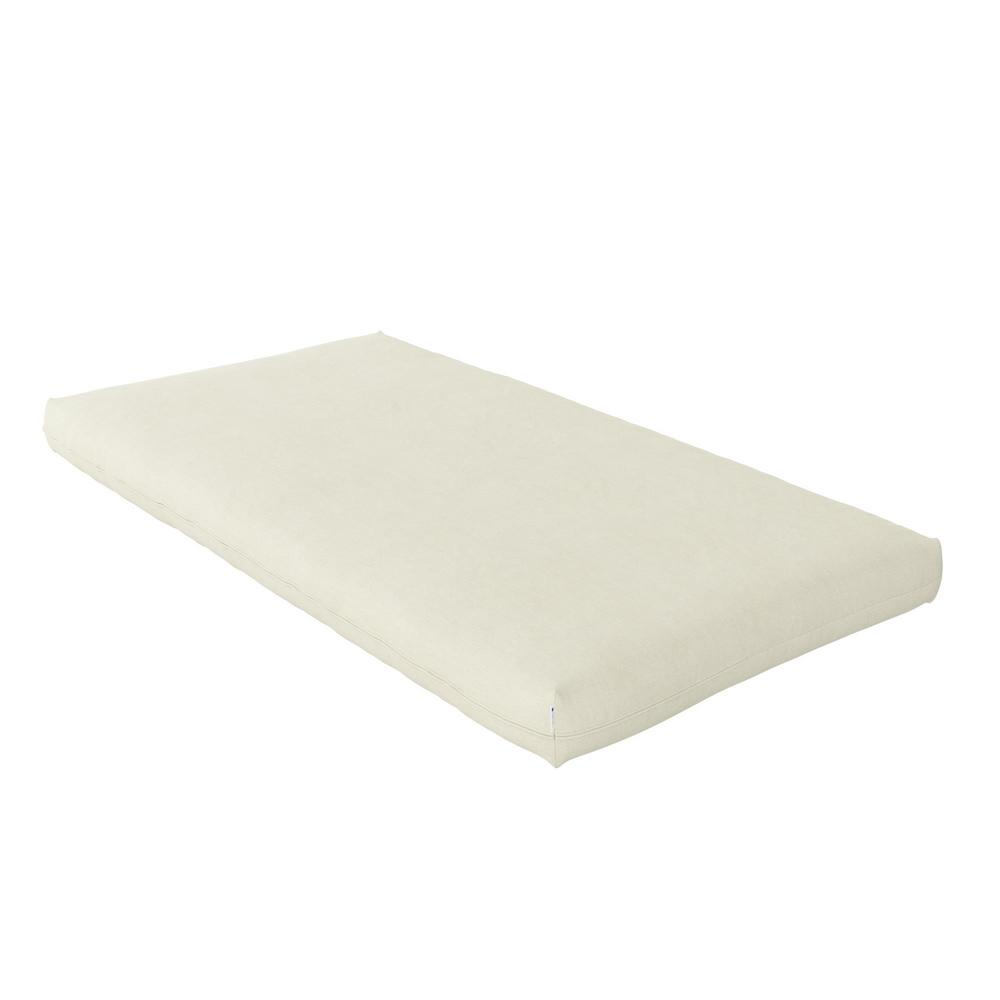 Honest Blossom Natural Wool Crib And Toddler Mattress with Organic Cotton