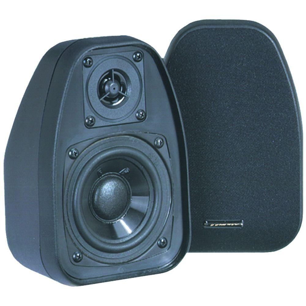 3 1/2 in. 125-Watt 2-Way Compact Shielded Speaker