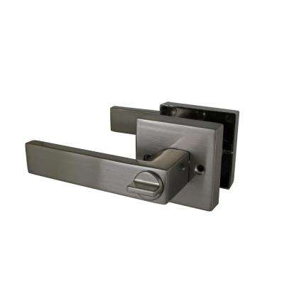 Karsen Privacy Bed/Bath Door Lever in Satin Nickel