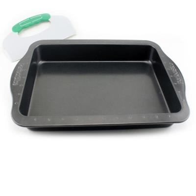 Perfect Slice Carbon Steel Baking Pan with Cutting Tool