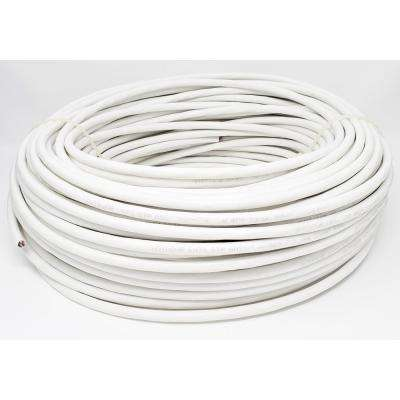 250 ft. 23 AWG CAT6 Solid STP Outdoor Bulk Ethernet Cable White