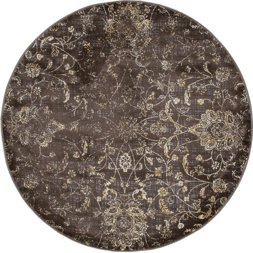 Art Carpet Karelia Ethereal Mushroom Brown 8 Ft X 8 Ft