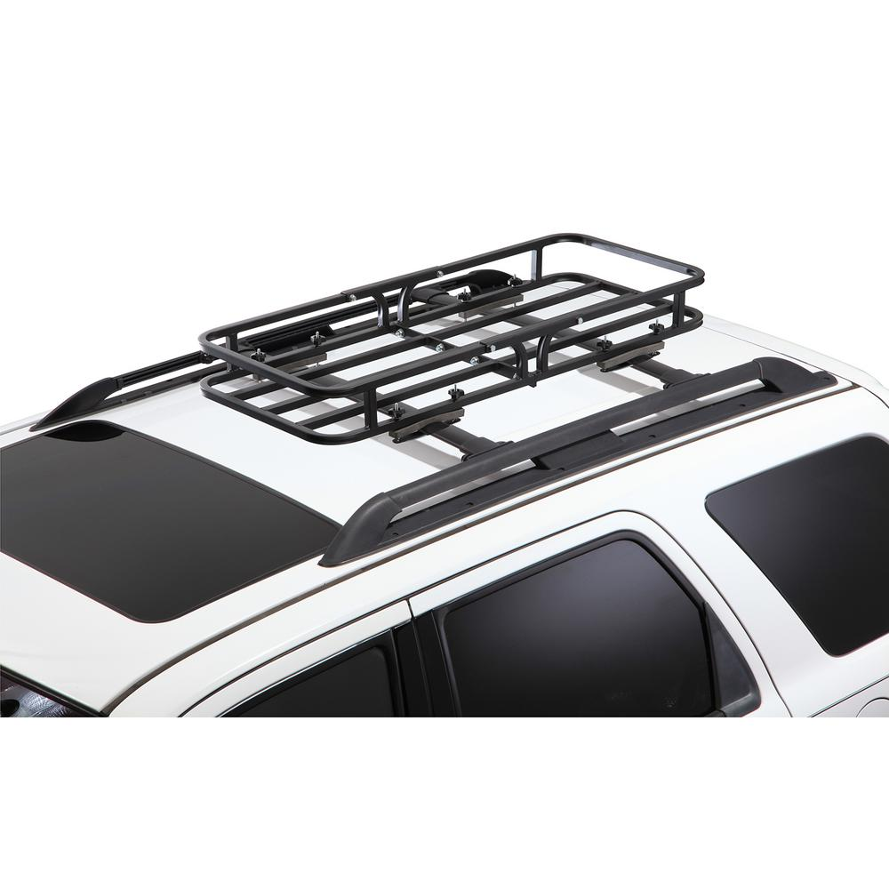 Rooftop Cargo Carrier Rental >> Cargoloc 2 In 1 Cargo Carrier And Roof Basket 32534 The Home Depot