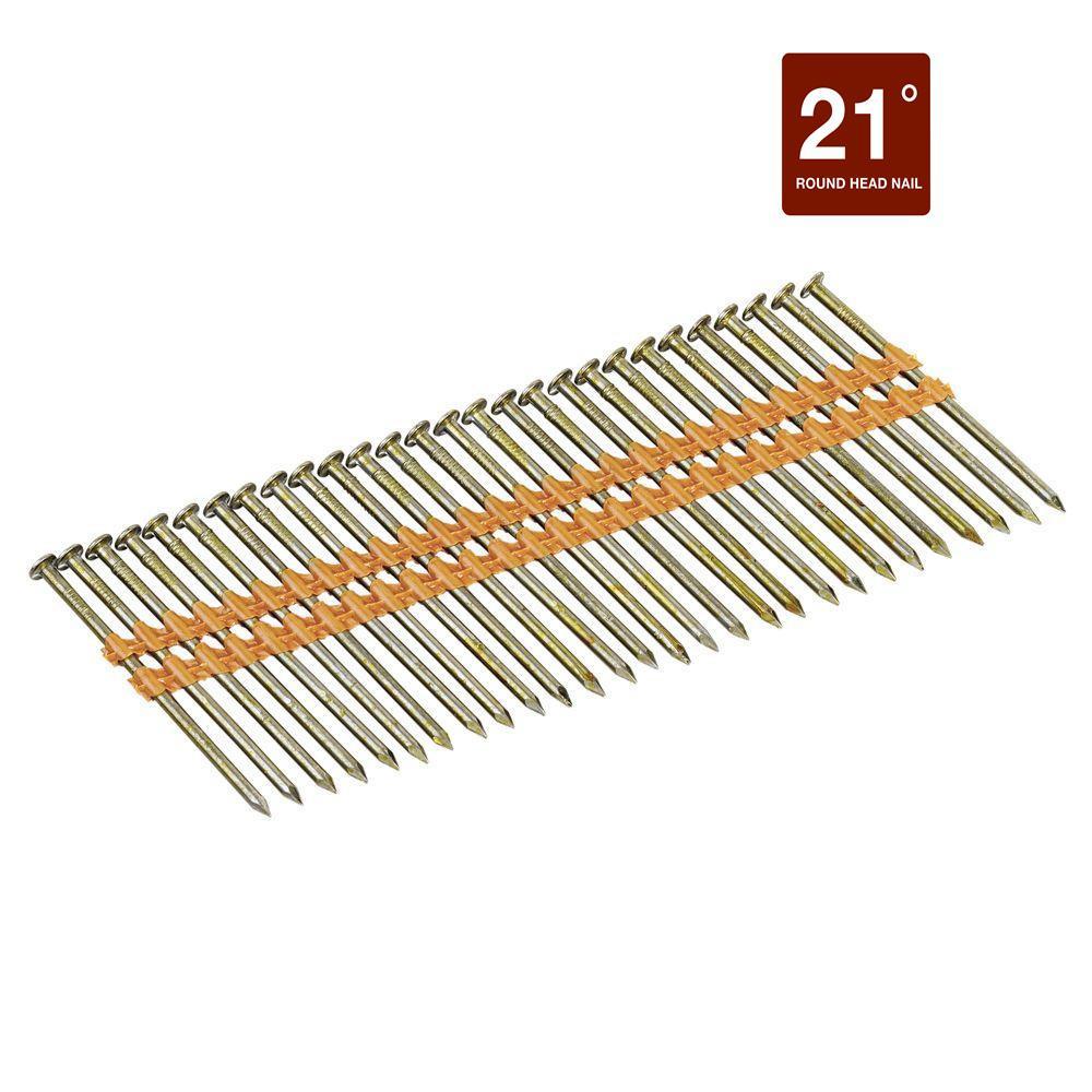 2-3/8 in. x 0.113 in. Metal Framing Nails (2000-Pack)