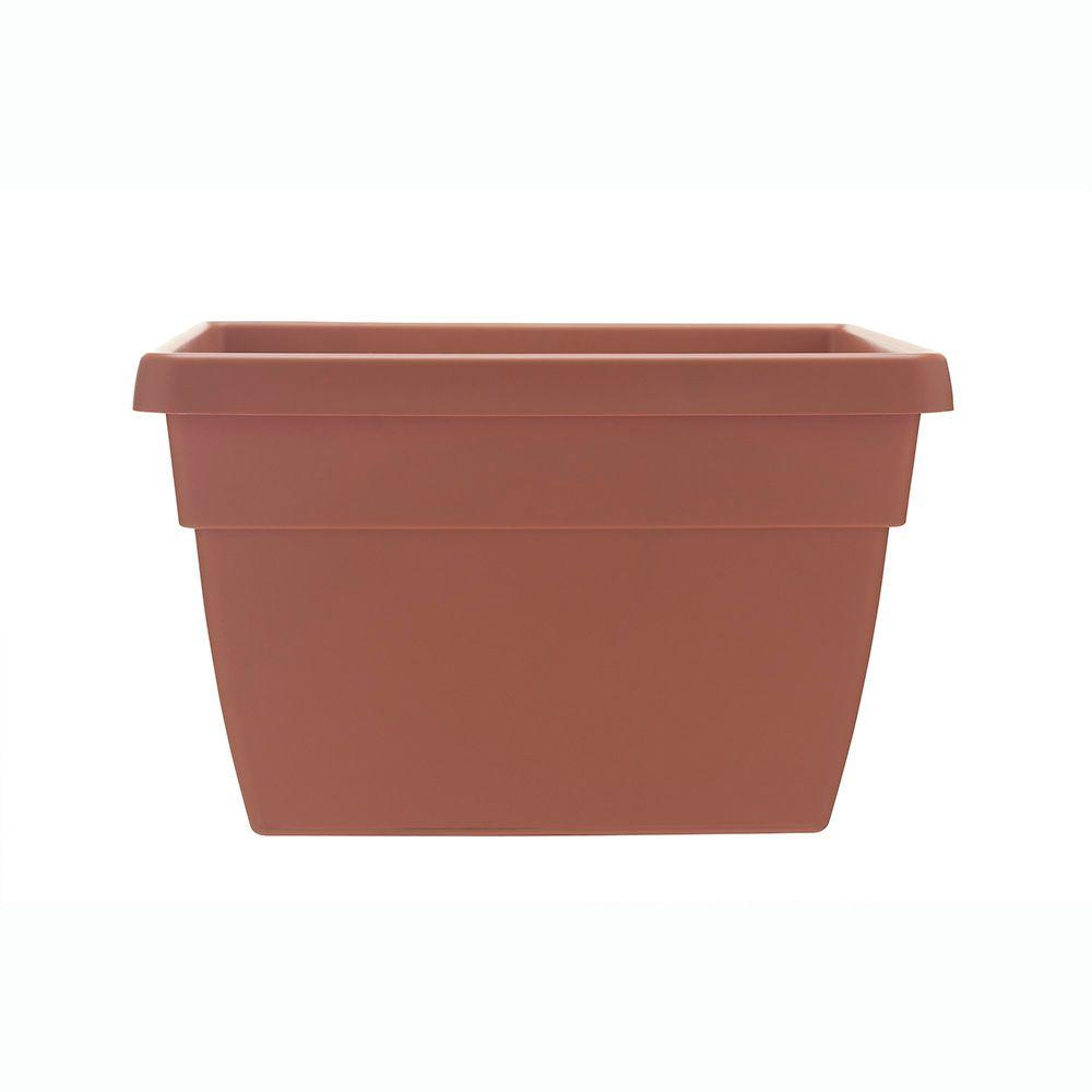 Dynamic Design Newbury 12 in. x 15.75 in. Light Terra Poly Railing on brick planters home depot, vertical garden home depot, window planters home depot, patio planters home depot, plant pots home depot, post planters home depot, trellis planters home depot,