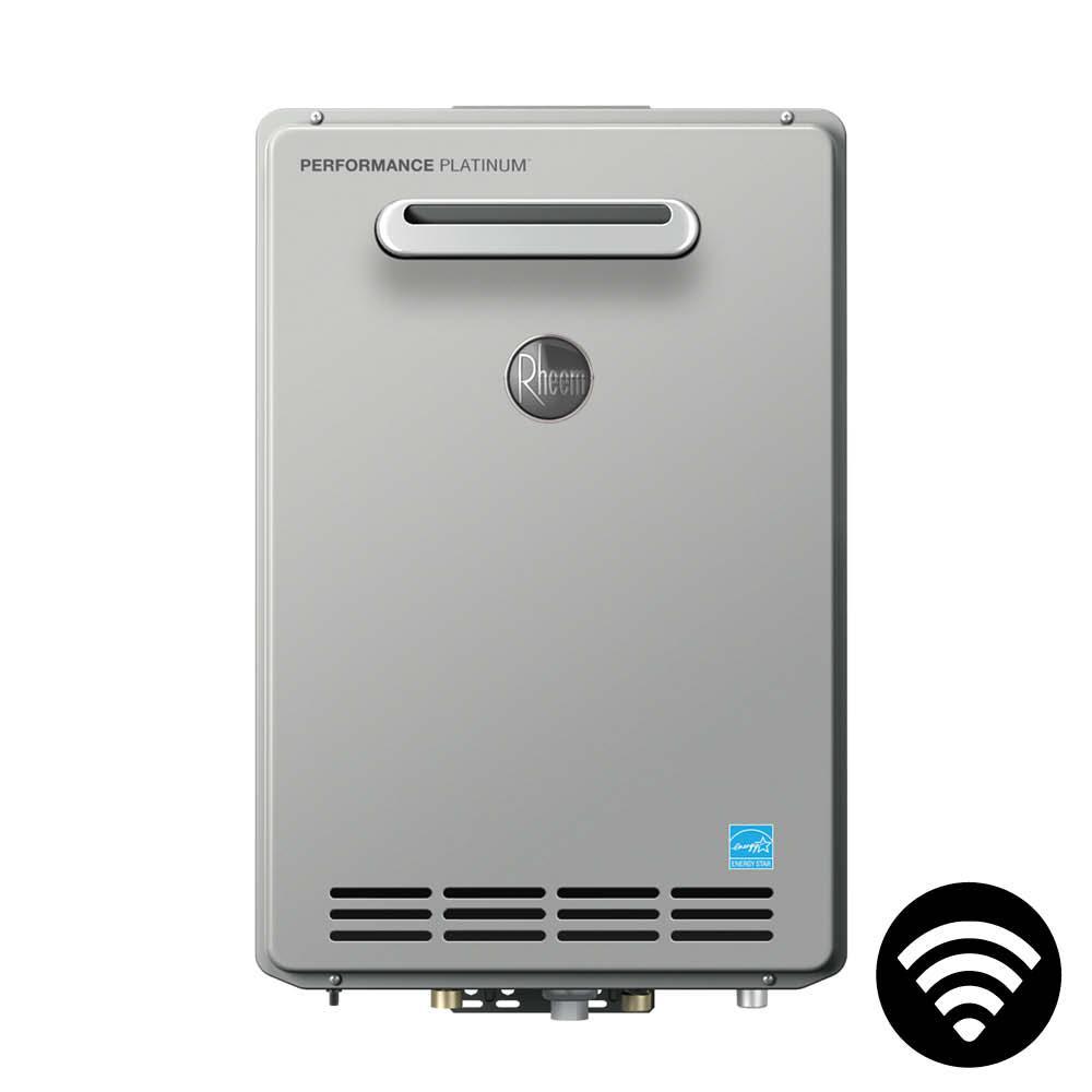 Performance Platinum 9.0 GPM Liquid Propane High Efficiency Outdoor Smart Tankless Water Heater