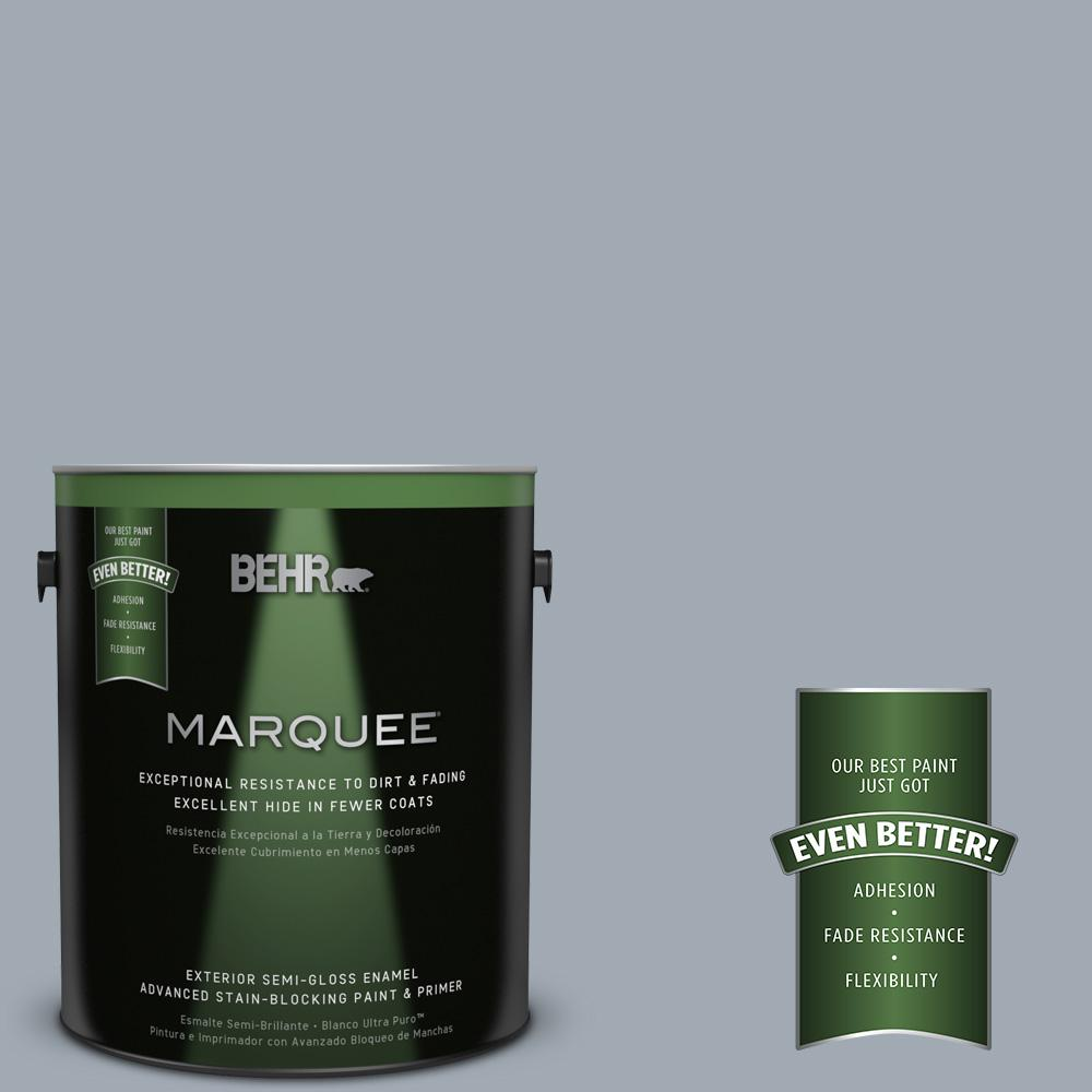 BEHR MARQUEE 1-gal. #T13-6 Twilight Semi-Gloss Enamel Exterior Paint