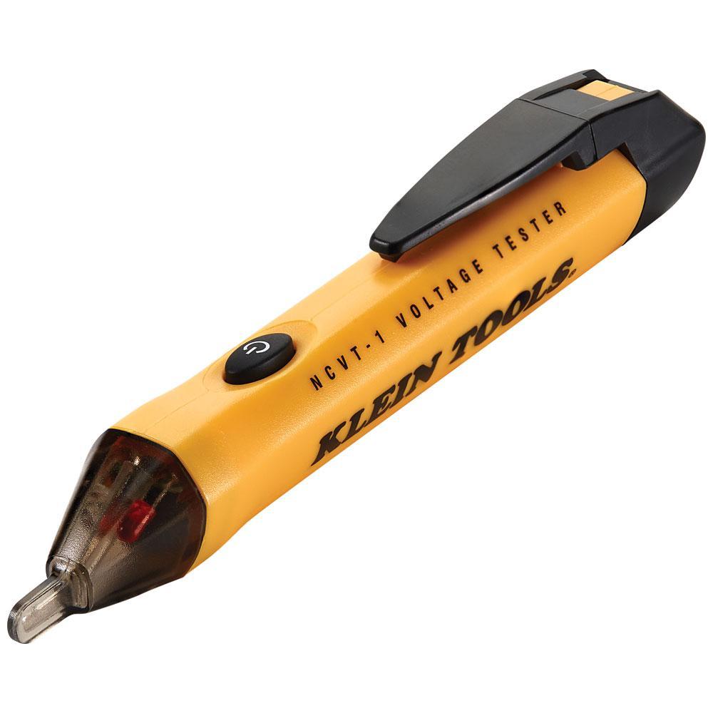 Klein Tools Non Contact Voltage Tester Ncvt 1sen The Home Depot