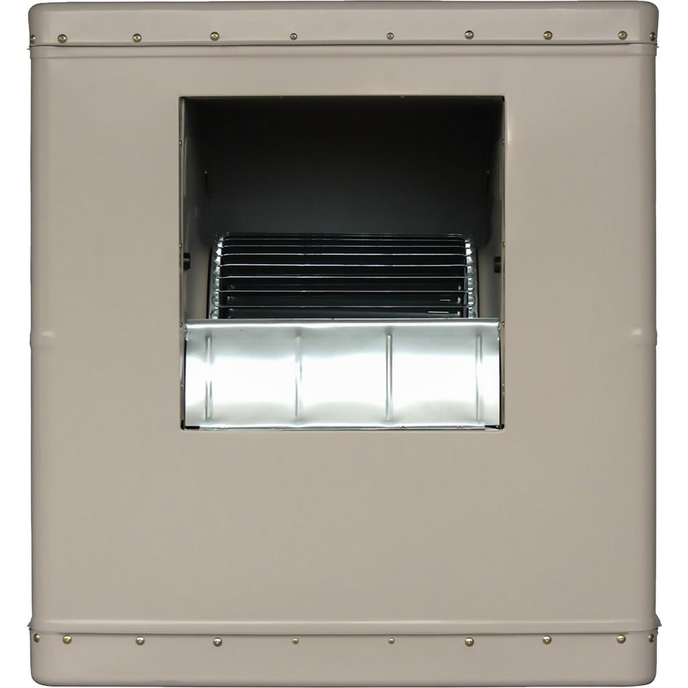 Champion Cooler 6500 Cfm Side Draft Wall Roof Evaporative Cooler For 2300 Sq Ft Motor Not Included 5000 Sd The Home Depot