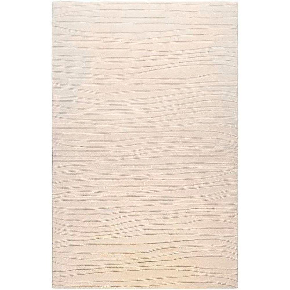 Artistic Weavers Deshler Ivory 5 ft. x 8 ft. Area Rug