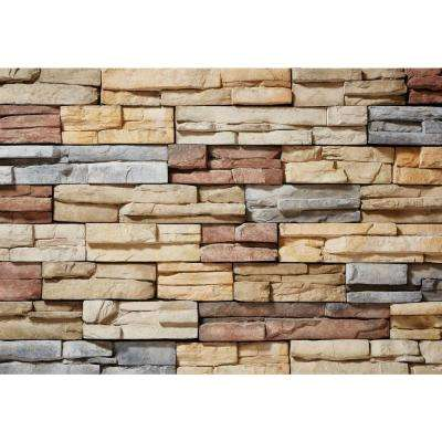 Prostack Poinset Corners 26-3/4 in. x 16 in. 6 lin. ft. Manufactured Stone (18-Piece per Carton)