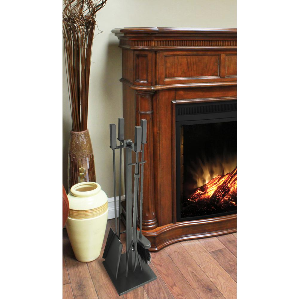 Atticus 5-Piece Fireplace Tool Set