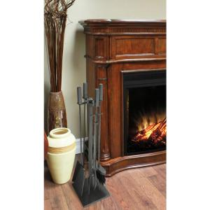 Atticus 5 Piece Fireplace Tool Set