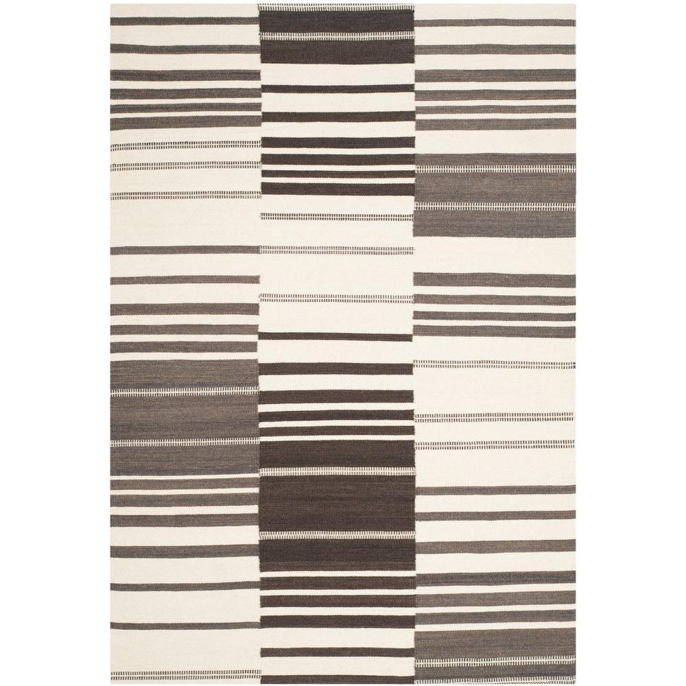 Safavieh Kilim Brown/Ivory 5 ft. x 8 ft. Area Rug
