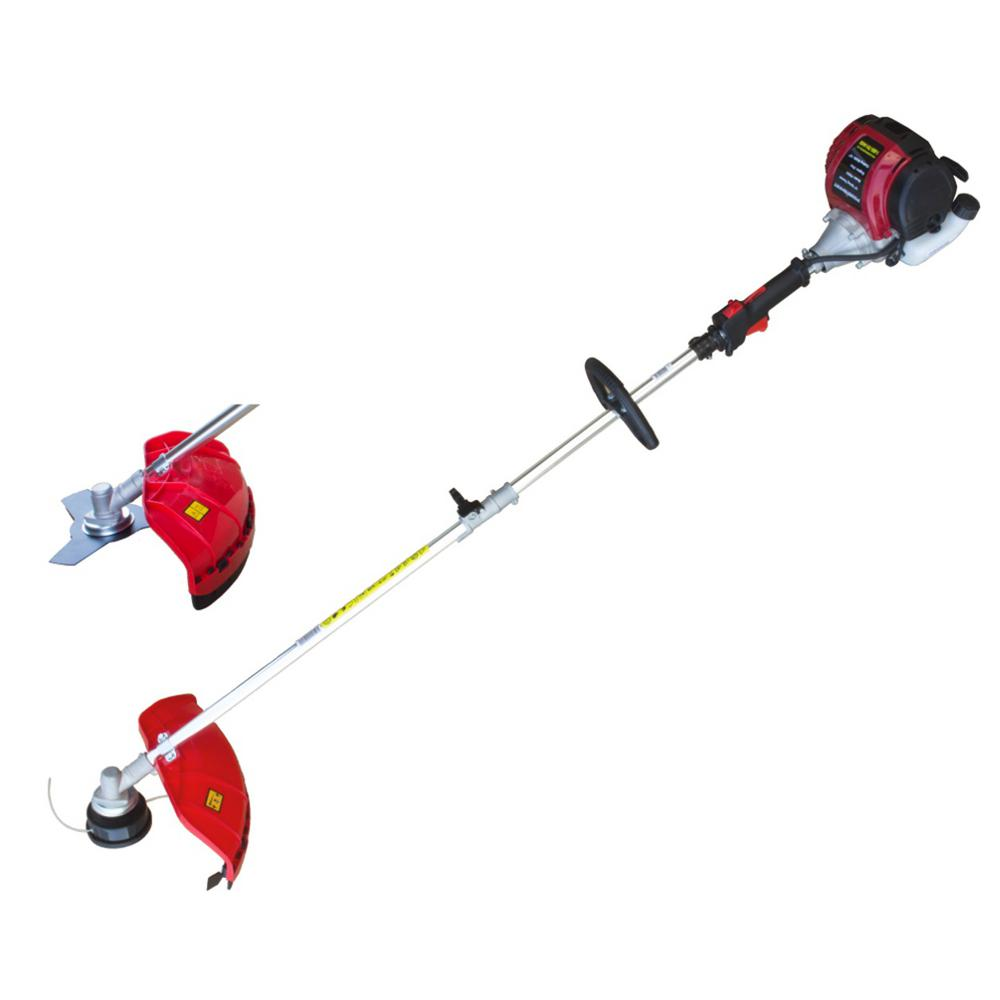 PowerSmart - 31cc 4 Stroke Gas String Trimmer and Brush Cutter