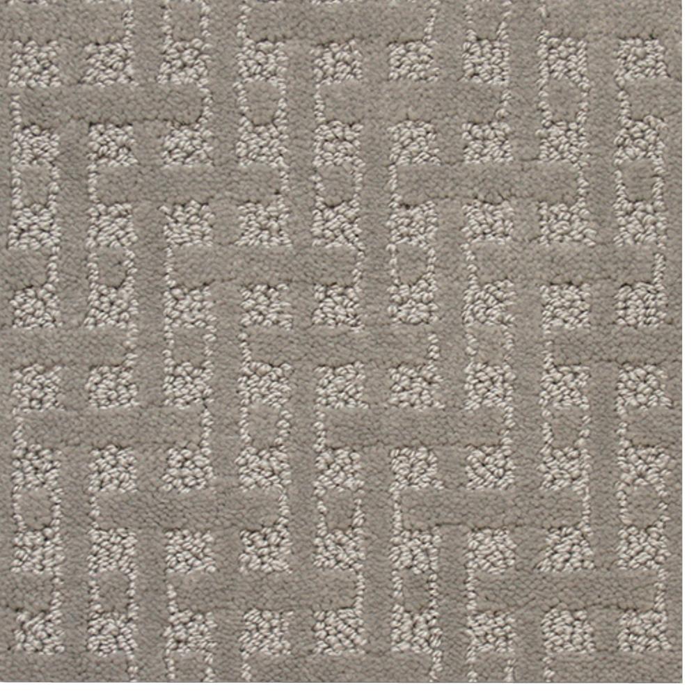 Carpet Sample - Woodruff - Color Marsh Hawk Pattern 8 in. x 8 in.