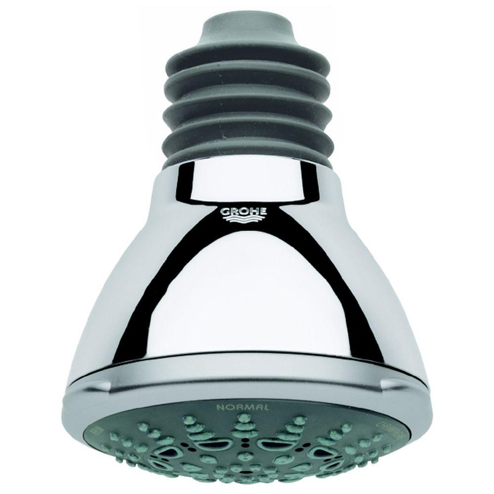 Movario 5-Spray 3-7/8 in. Showerhead in Chrome