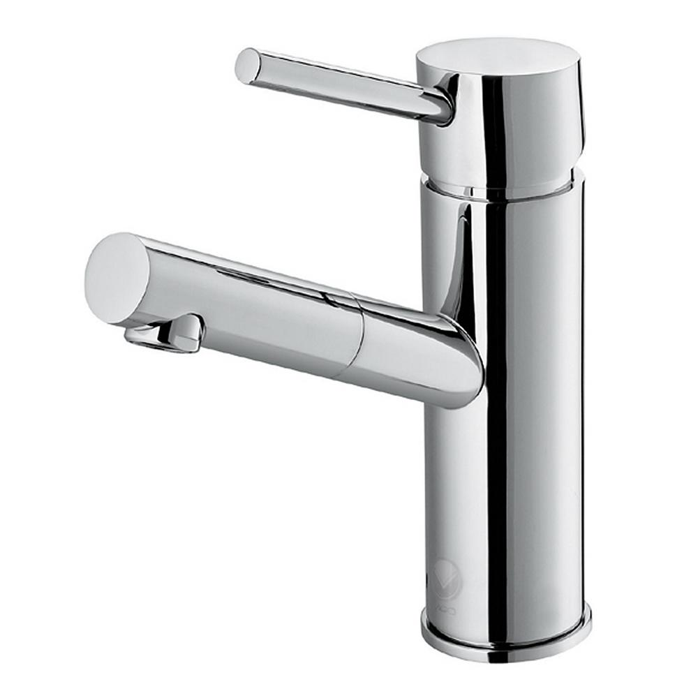 Vigo Single Hole Single Handle Bathroom Faucet In Chrome Vg01009ch The Home Depot