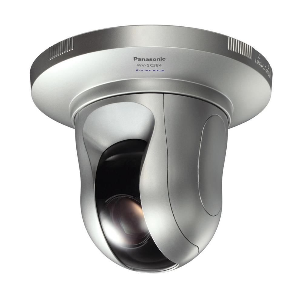 Panasonic High-Resolution Wired 720p Indoor/Outdoor PTZ Dome Network Security Camera with 18X Optical Zoom