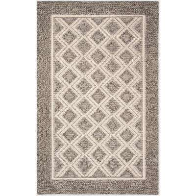 Vermont Gray/Ivory 5 ft. x 8 ft. Area Rug