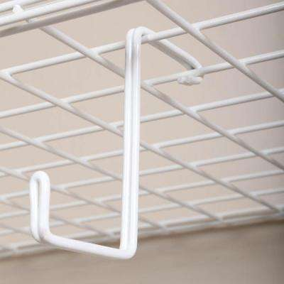 8 in. L Add on Garage Storage Hooks (4-Pack)